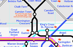 Mornington Crescent game area